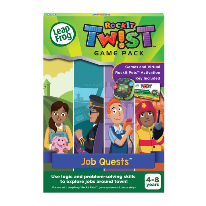 LeapFrog Rockit Twist Game Pack Job Quest
