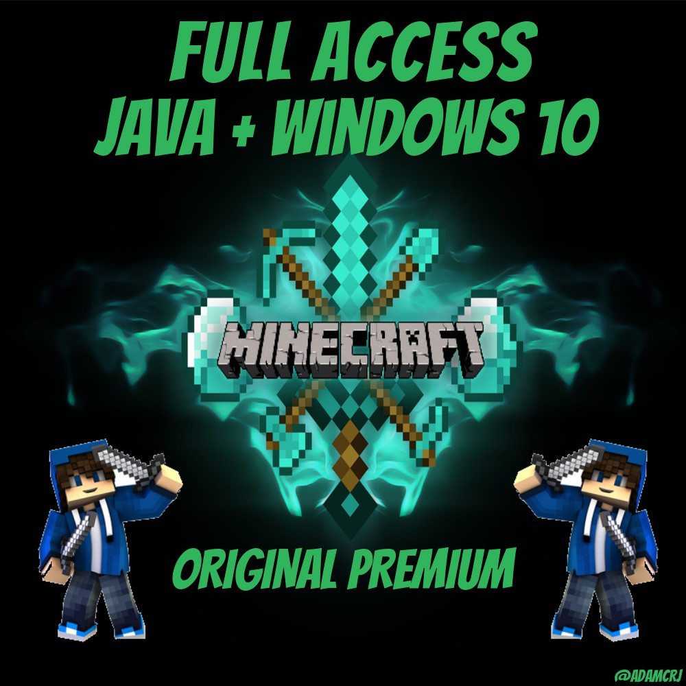 *CHEAPEST* Full Access Minecraft Java Version + FREE Windows 12 minecraft  original