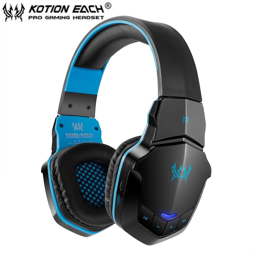 Each B3505 Wireless Bluetooth 4 1 Stereo Gaming Headphone Headset Support Nfc Shopee Malaysia