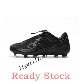 on feet at buy best info for 2019☛adidas Predator Precision FG black out mens low sport soccer football  shoes