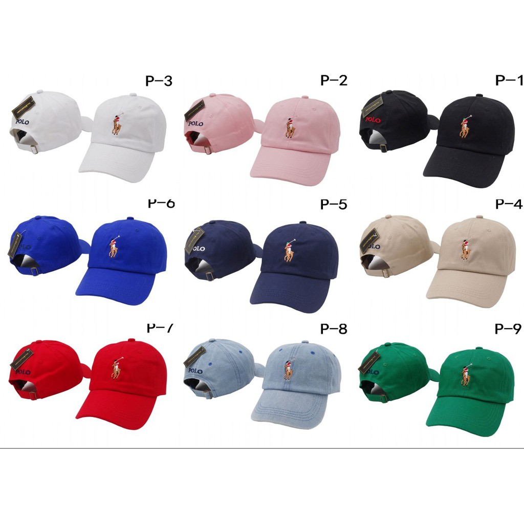 bb4b78d2821cae ProductImage. ProductImage. Ralph Lauren Polo Classic Embroidered Pony  Cotton Chino Baseball Cap Adjustable