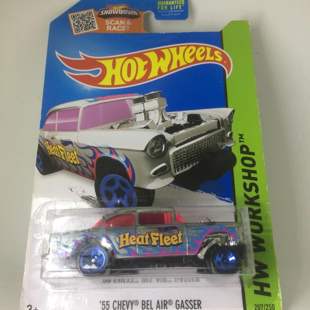 Ba270 Hot Wheels 55 Chevy Bel Air Gasser Hw Flames Shopee Malaysia