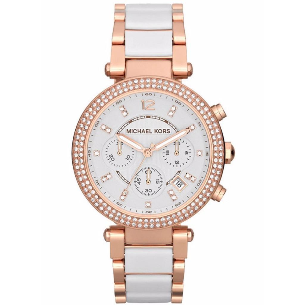 02ffbc4c16b9 Original Michael Kors Women s Sofie Analog Display Rose Gold Watch MK6558