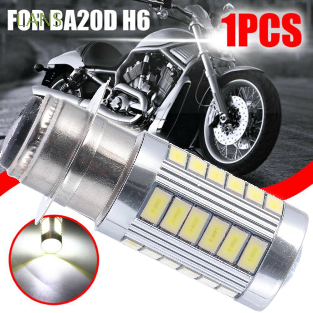 33smd White Accessories Led Bulb H6 BA20D Motorcycle Headlight Motor Bike Light