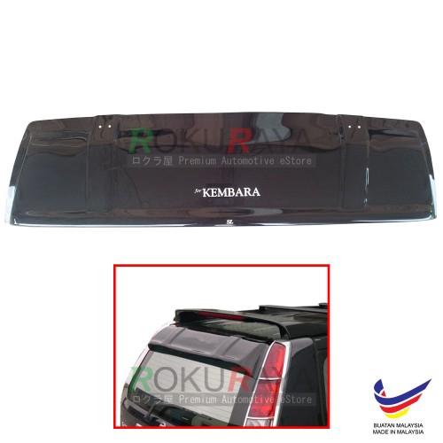 Perodua Kembara 1998-2008 AG Rear Wing Spoiler Visor (Big 25cm)