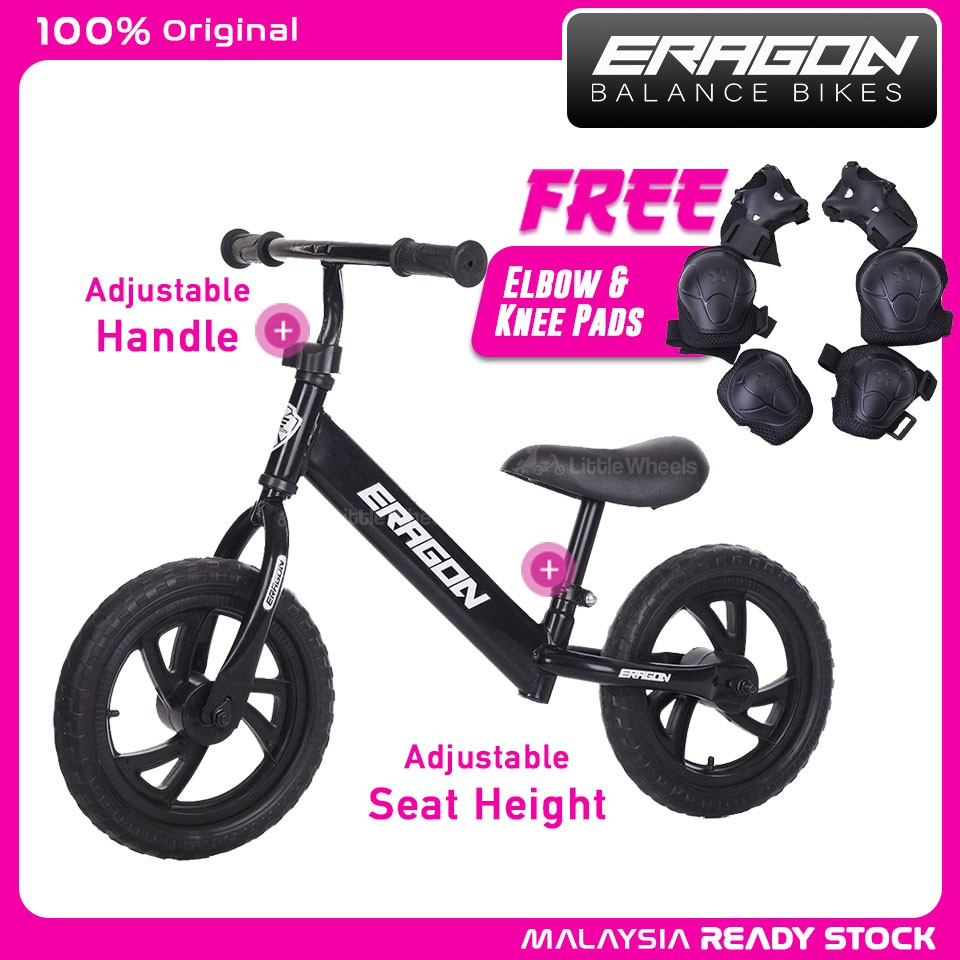 """My Little Pony 2 in 1 10/"""" inch Training Balance Bike Cycle For Kids //"""