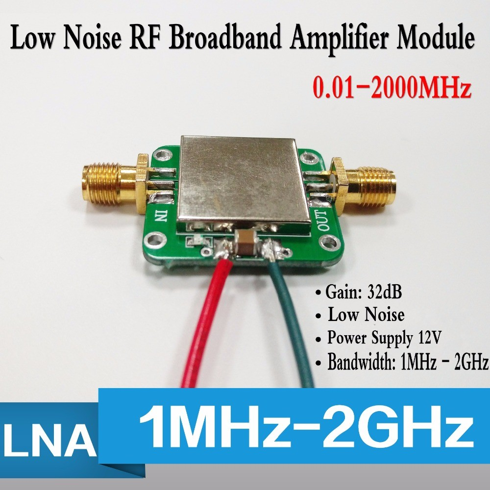 Popular Brand Rf Broadband Power Amplifier In 40db 1mhz To 2ghz Gain 20dbm Output Power Easy To Use Air Conditioner Parts Back To Search Resultshome Appliances
