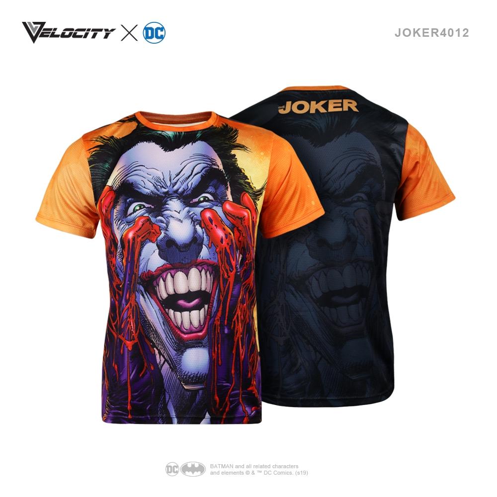 J4012 Unisex Exclusive Polyester Full Print Joker Tee Short sleeve