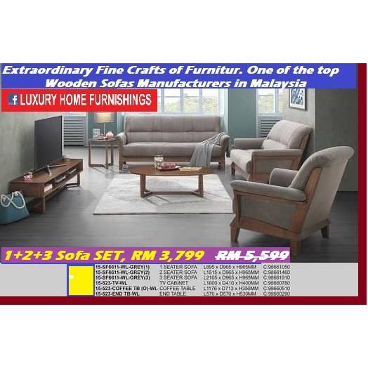 sofa set, 1+2+3, extra ordinary fine crafts of furniture