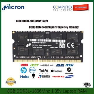 Laptop Rams DDR3L 8GB Memory | Shopee Malaysia