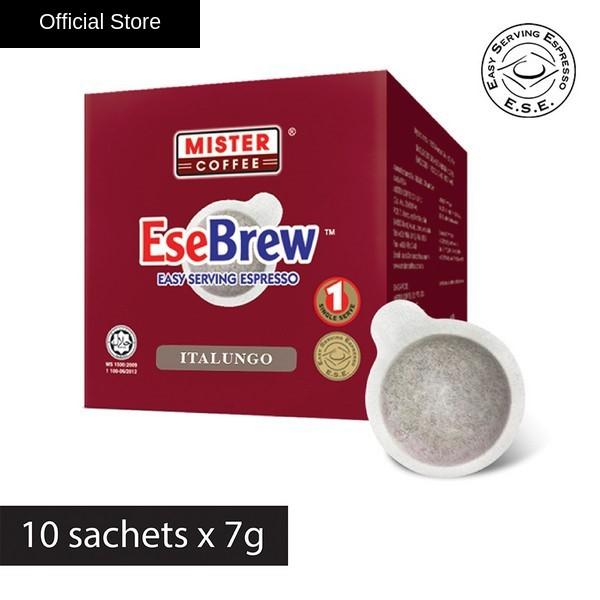 [Mister Coffee] EseBrew™ Espresso  Italungo (10 sachets) - E.S.E Pods