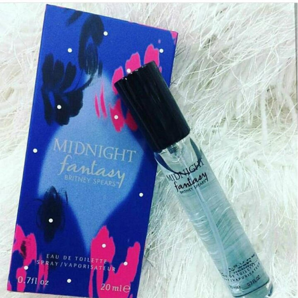 BRITNEY SPEARS MIDNIGHT FANTASY (Europe Authentic Perfume 20ML)