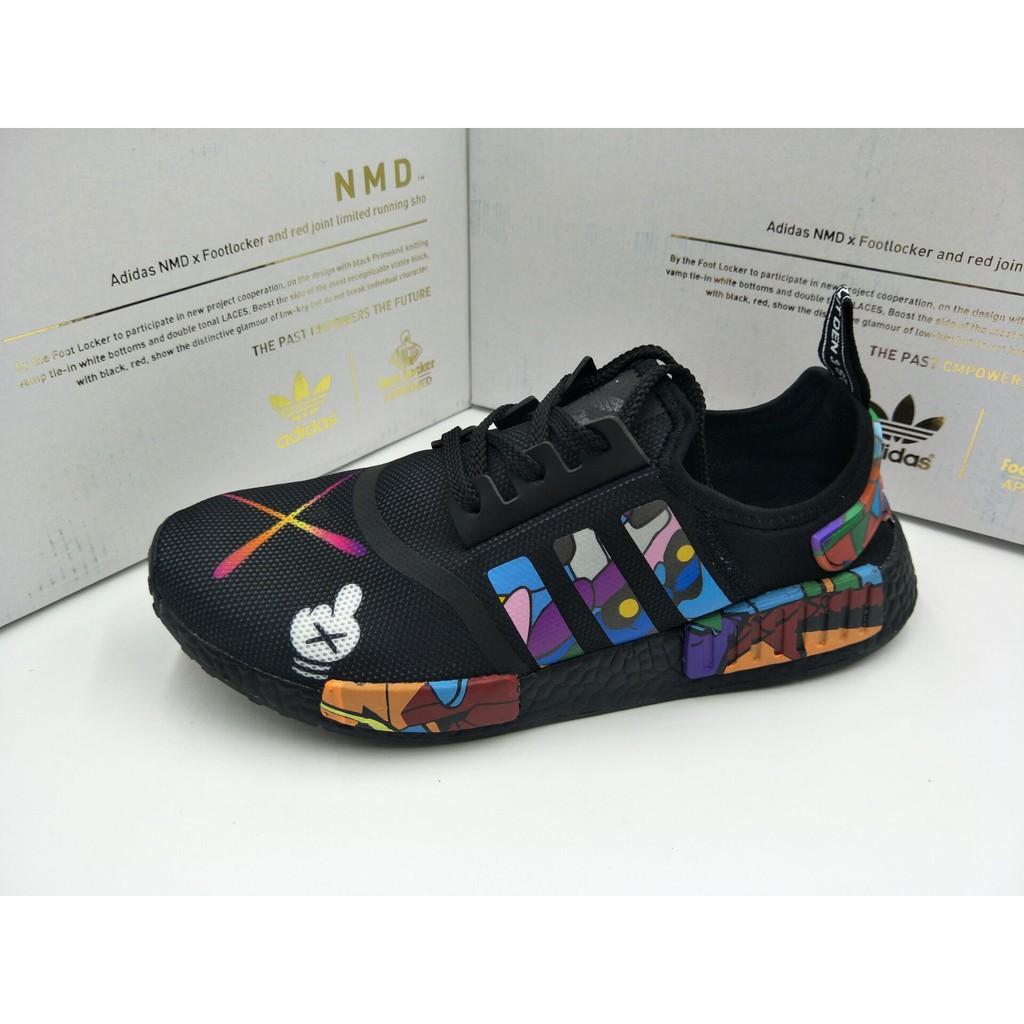 cedae1d12ae55 READY STOCK 100% Adidas KAWS x Adidas NMD R1 Boost S31512