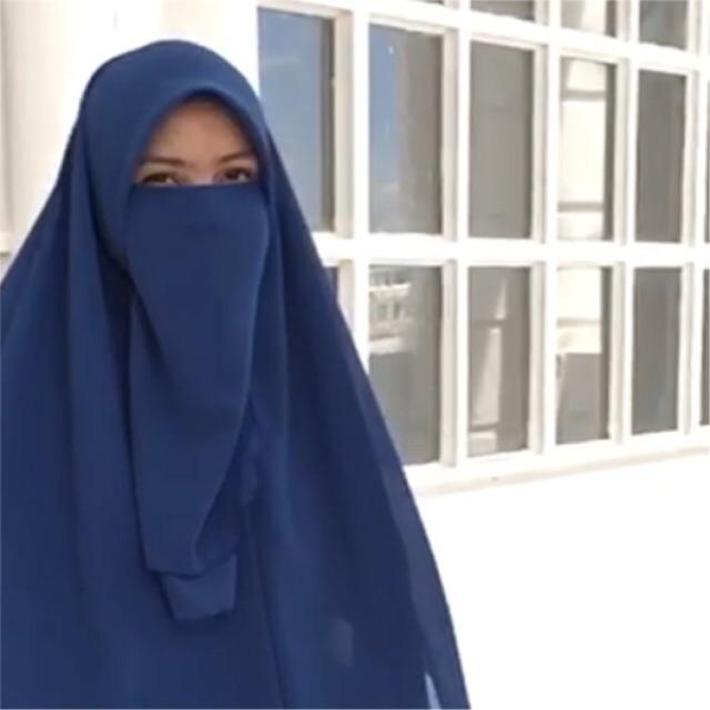 purdah half koshibo shopee malaysia