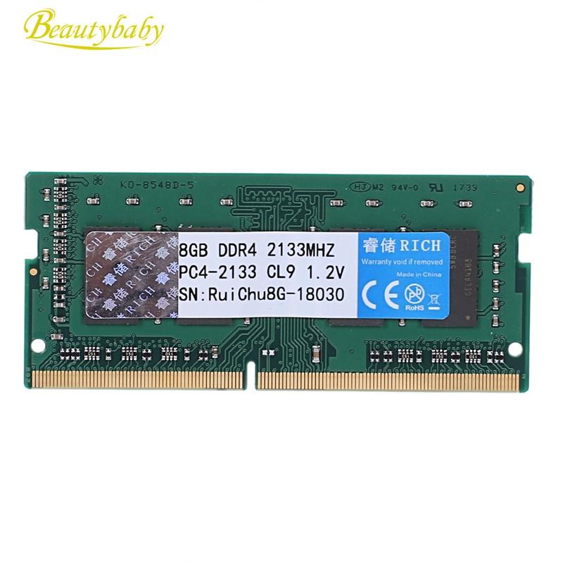 Ruichu Ddr4 2133Mhz 1.2V 288Pin Ram Memory For Laptop