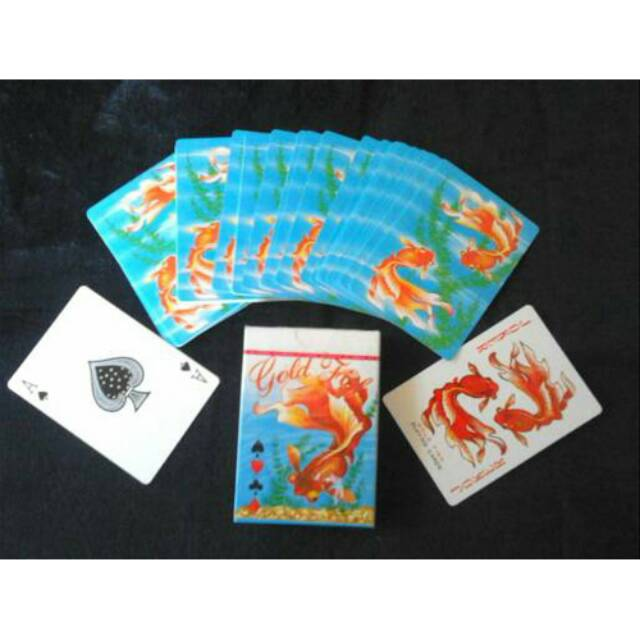 Gold Fish Poker Playing Cards Shopee Malaysia