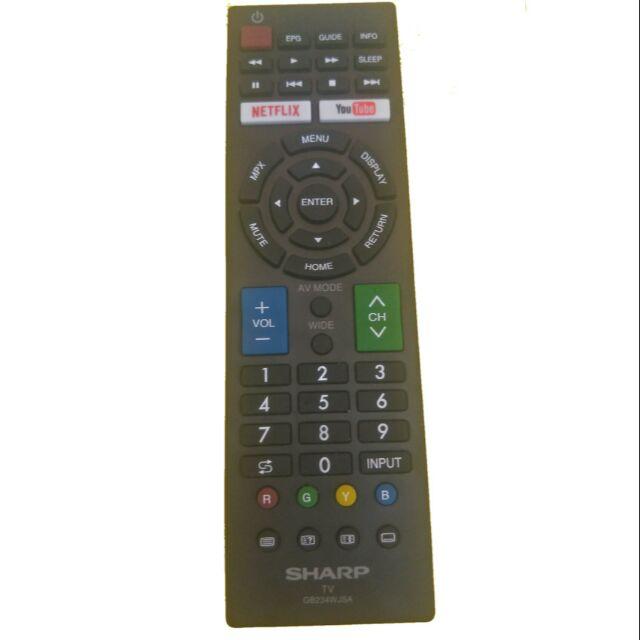 Sharp led remote control (original)