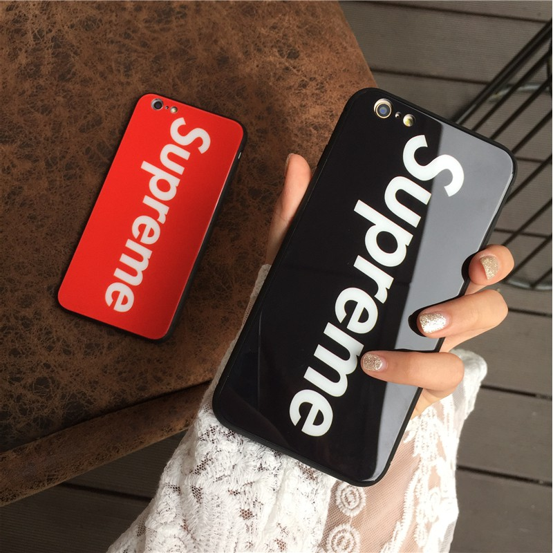 half off 76961 6bb95 For OPPO F7 F5 A73 A3 Luxury Supreme Tempered Glass Back Cover Phone Case