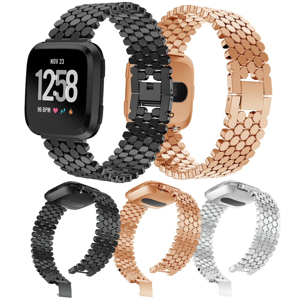 Luxury Watch bands for Fitbit Versa Wrist Strap Replacement Bracelet Accessories