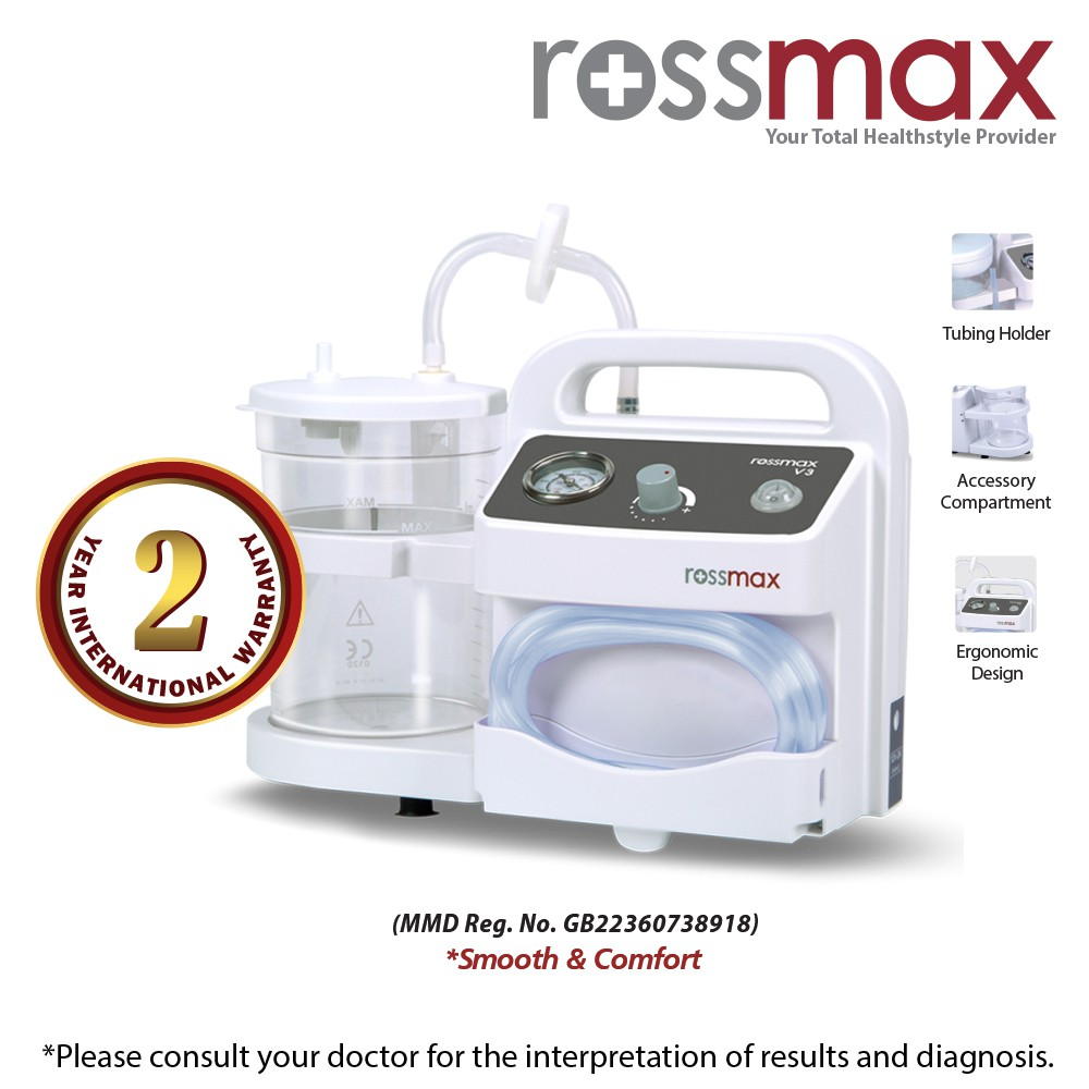 "ROSSMAX ""Smooth & Comfort"" Suction Unit Model V3"