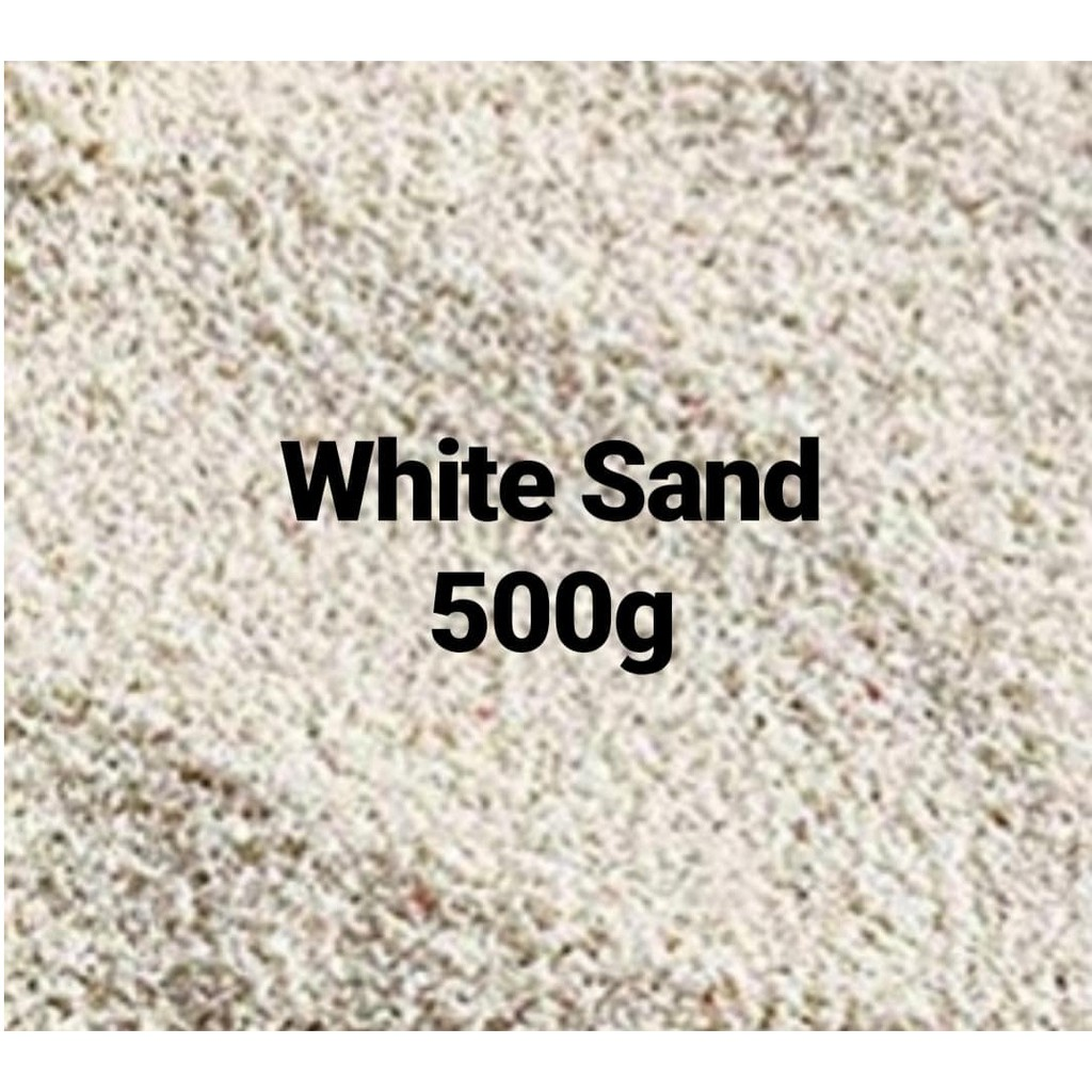WHITE SAND AQUARIUM DÉCOR 500G
