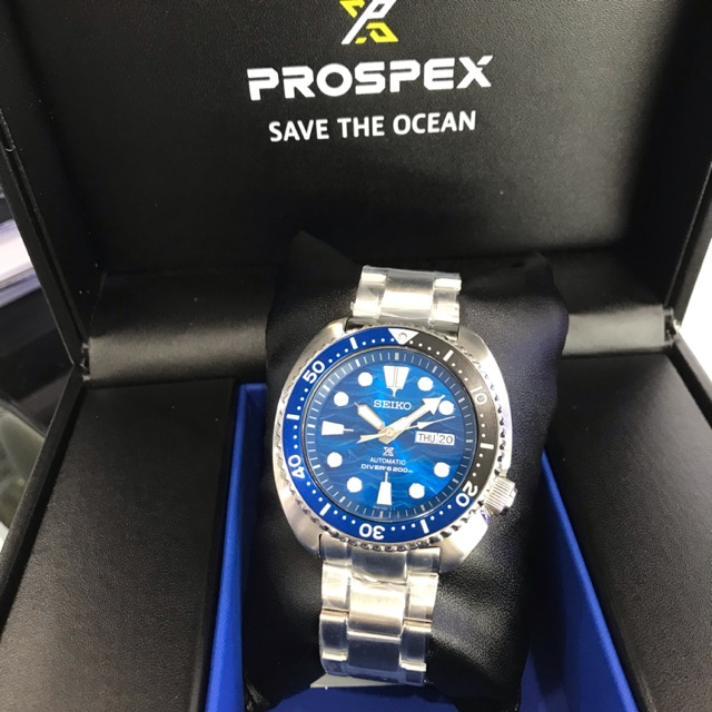 SEIKO SAVE THE OCEAN PROSPEX TURTLE DIVER'S 200M AUTOMATIC SPECIAL EDITION  SRPD21 SRPD21K1