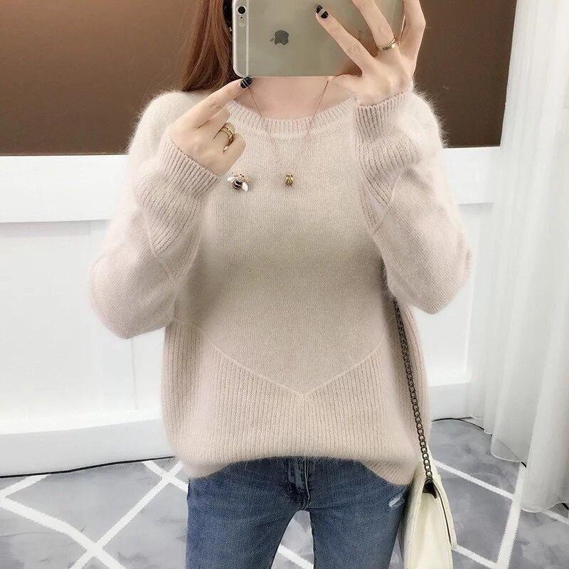 Women's Autumn Winter Pullover Short Sweater