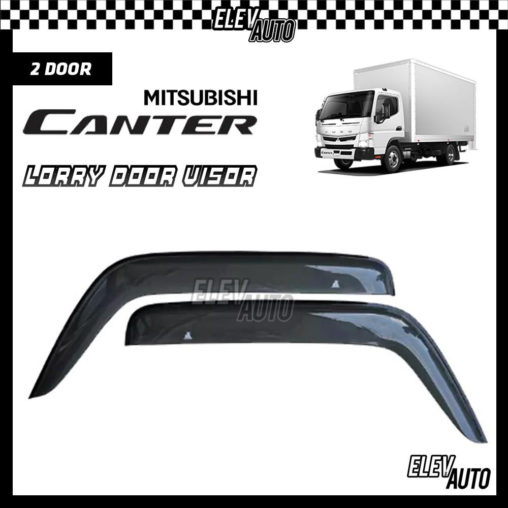Mitsubishi Canter PREMIUM Injection Door Visor