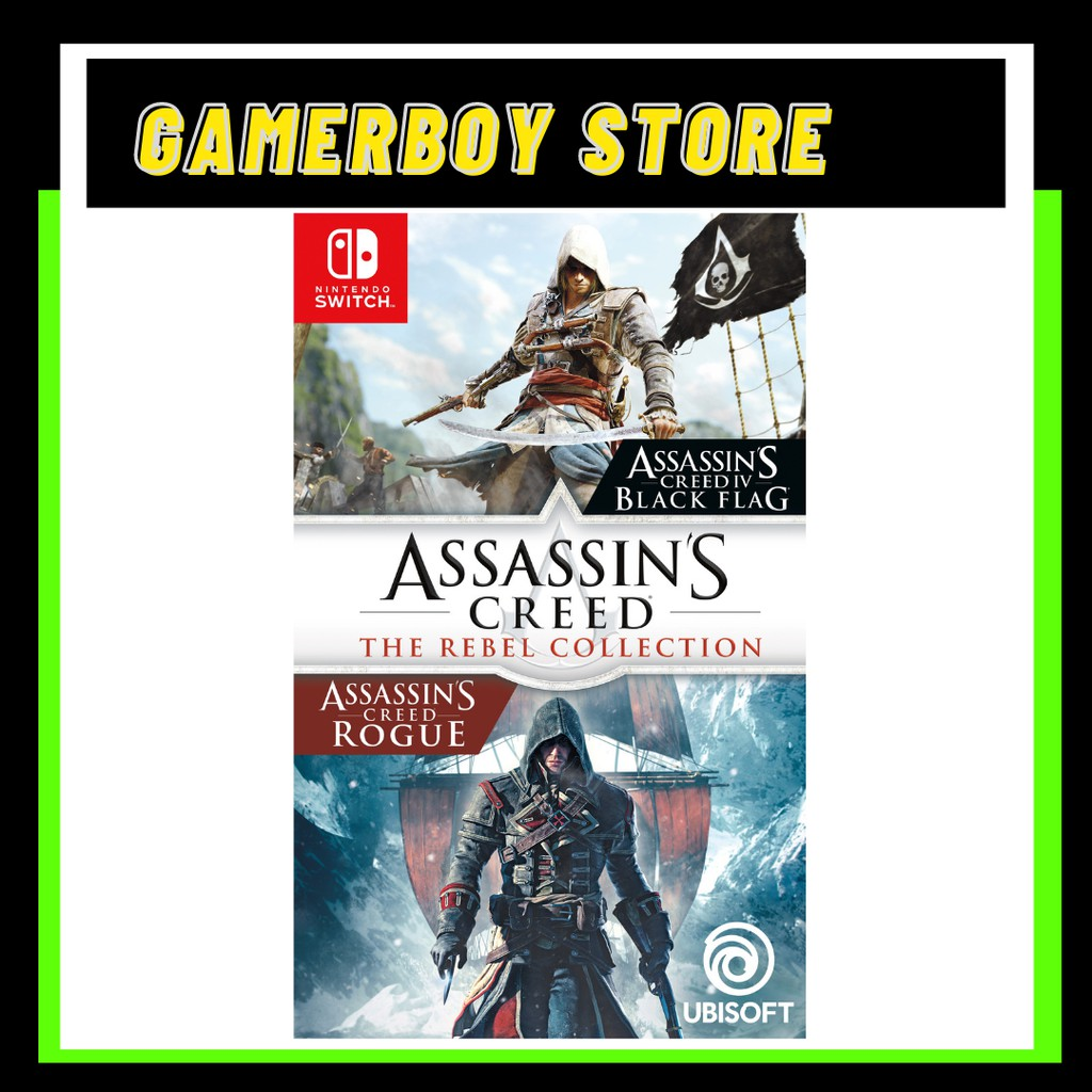 NINTENDO SWITCH ASSASSINS CREED THE REBEL COLLECTION (PHYSICAL)
