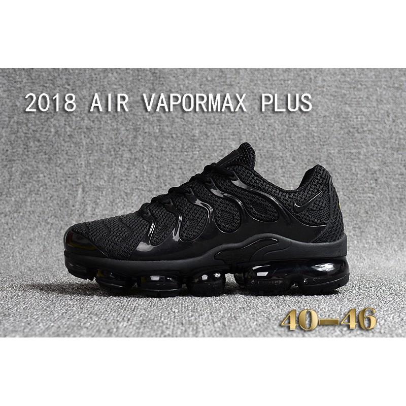 449ac369e8b6e NIKE AIR VAPORMAX PLUS TN Running Shoes Men Black Size Euro 40-46 ...