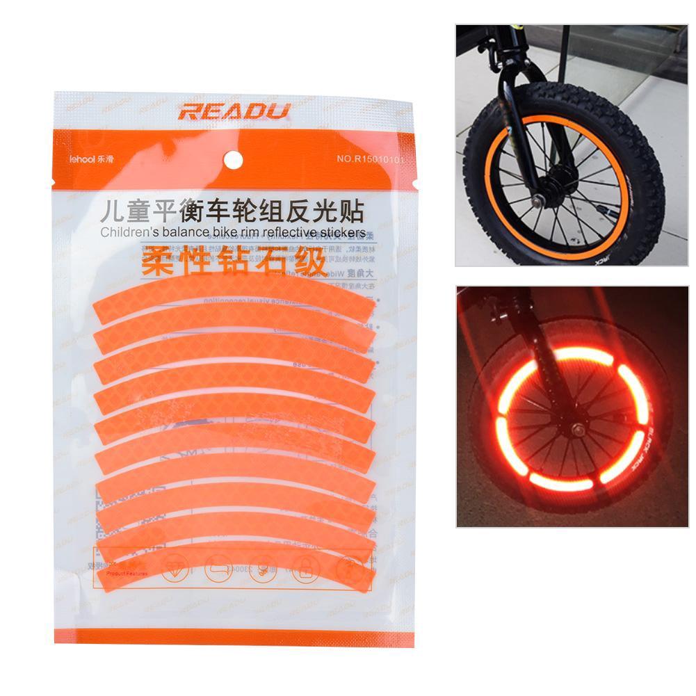 12PC REFLECTOR SET BIKE BICYCLE CAR