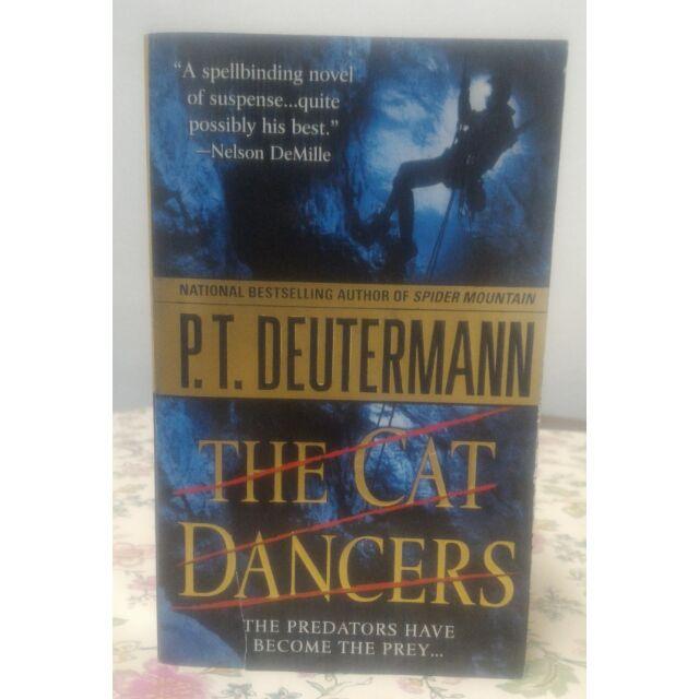 secondhand english novel the cat dancers by p t deutermann