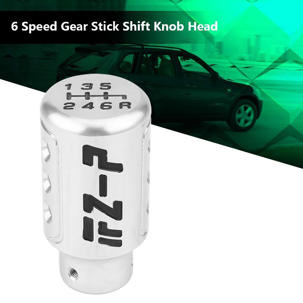 Black KIMISS Adjustable Universal Car Gear Shift Knob with 1 set Adapters