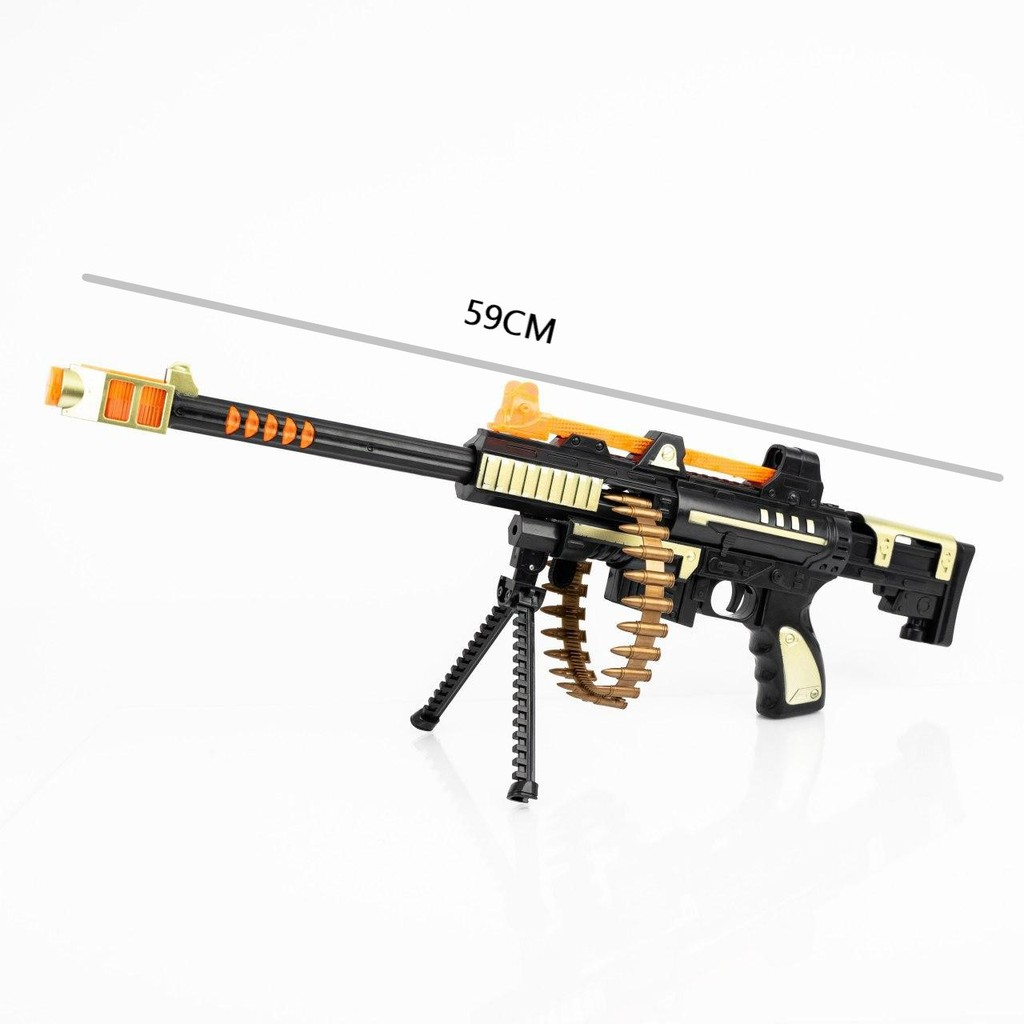 Ready Stock Electric Pistol Shoot Gun With Flashing Light And Sound For Kids Shopee Malaysia