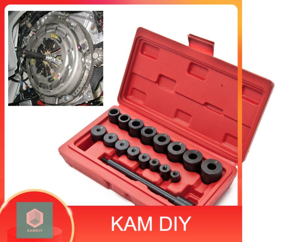 17pcs Centring Mandrel Clutch Tool Kit Clutch Alignments Tools Set