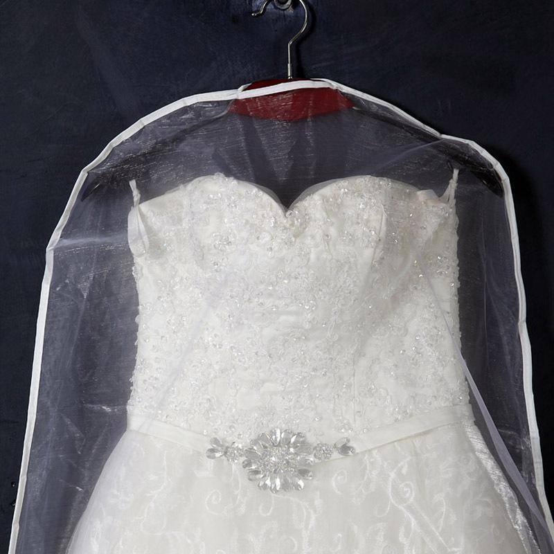 7381beeca191 Long Garment Dress Cover Bridal Wedding Dresses Storage Bag Dust ...