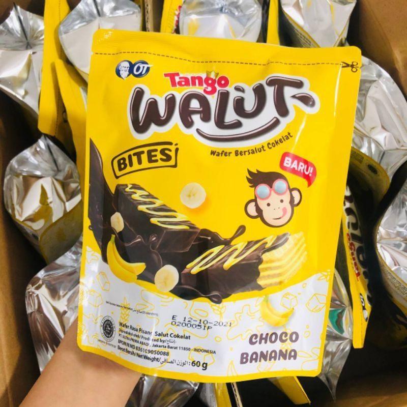 (Ready Stock) Tango Walut Bites Choco Banana 60g (10pcs×6g)