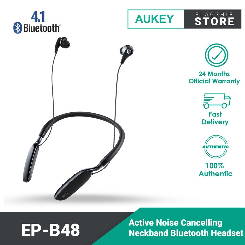 Aukey Active Noise Cancelling Neckband Bluetooth Headset EP-B48