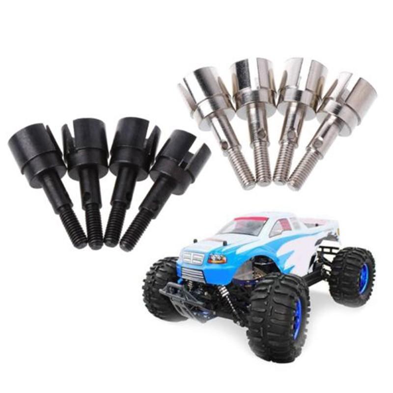4 pieces 02168 Wheel Axles for Redcat Racing Vehicles 1:10 Model Car Truck