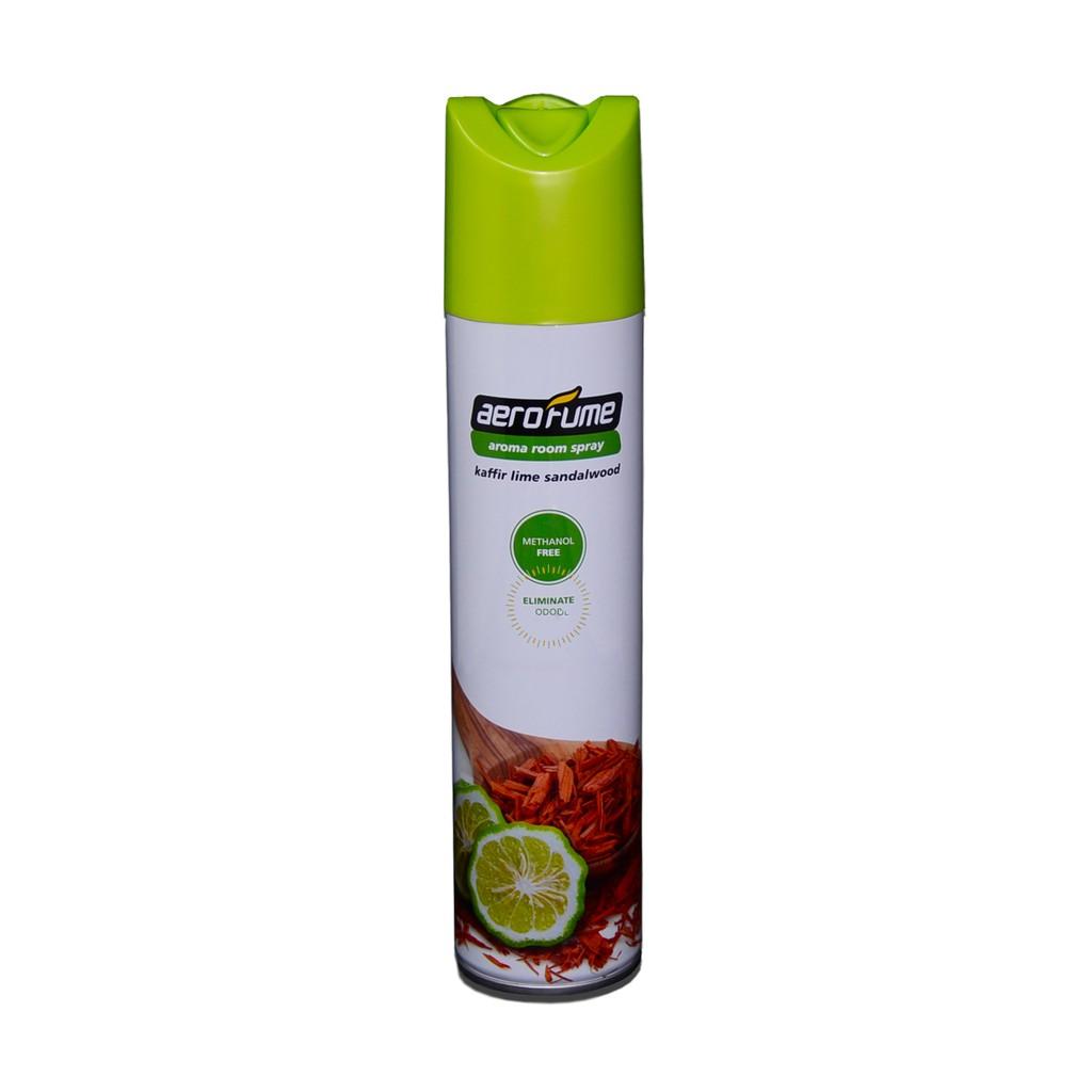 Aerofume Air Freshener Aroma Spray (Sandalwood Lime)