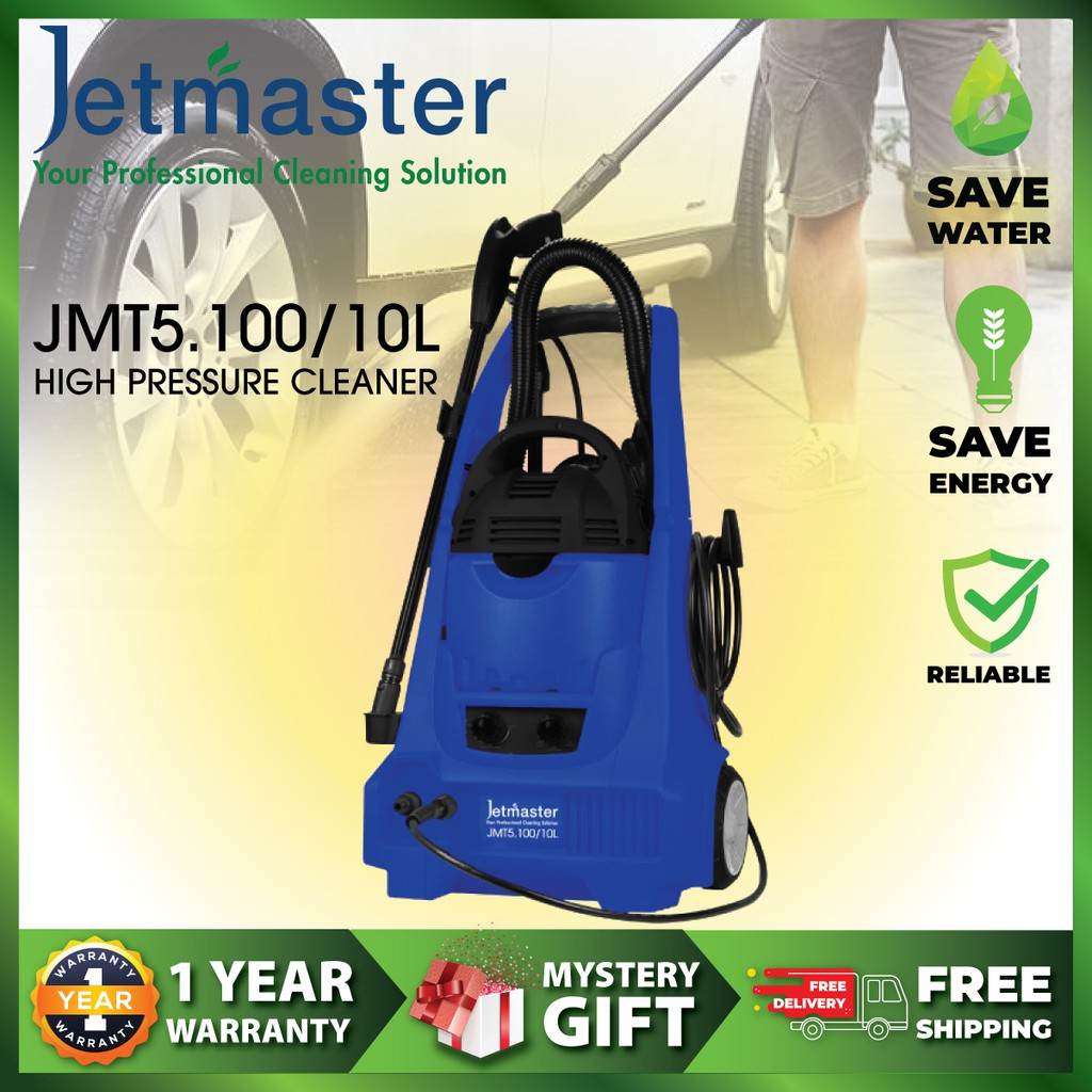 Jetmaster JMT5.100/10L (2in1 High Pressure Washer & Wet/Dry Vacuum Cleaner)