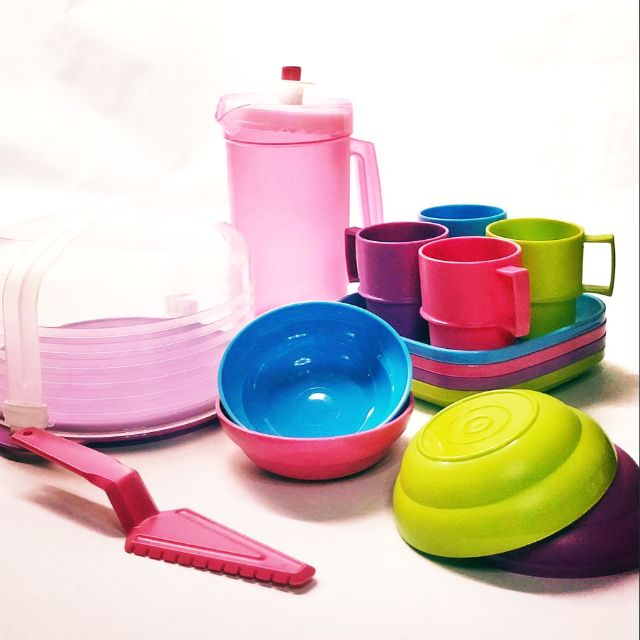 Tupperware Limited Edition Mini Cooking Picnic set for kids