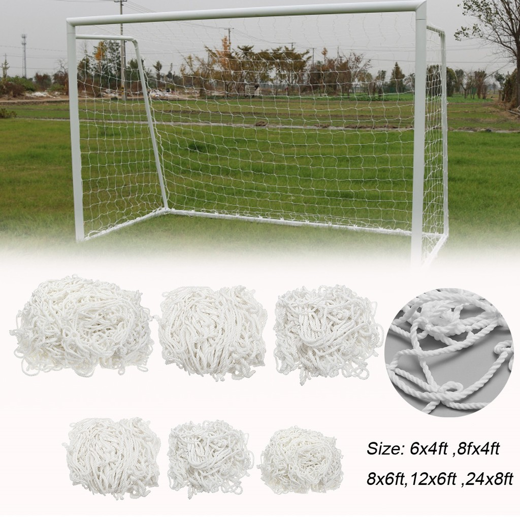2c7bf6a6a9d Football Soccer Goal Post Net Training Match Replace Outdoor Full Size  Adult Kid