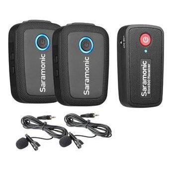 READY STOCK Saramonic Blink 500 B2 2-Person Wireless Clip on Lavalier Microphone