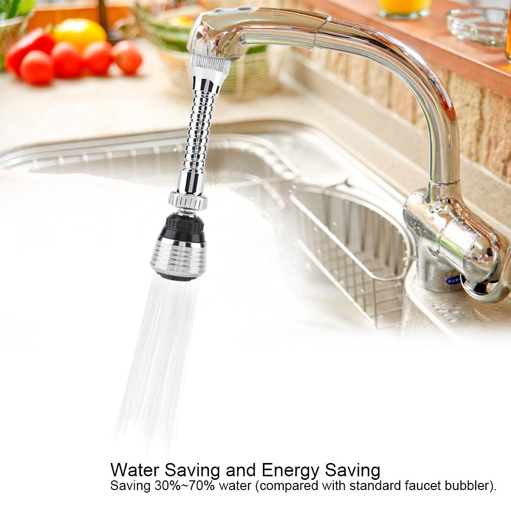 Unicersal Saving Flexible Faucet Sprayer Turbo Flex 360 Sink Faucet Sprayer Jet