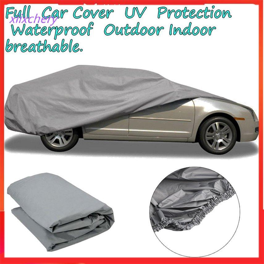 Car Cover Outdoor /& Indoor Gray Waterproof Heat Protection Breathable 100/% UV