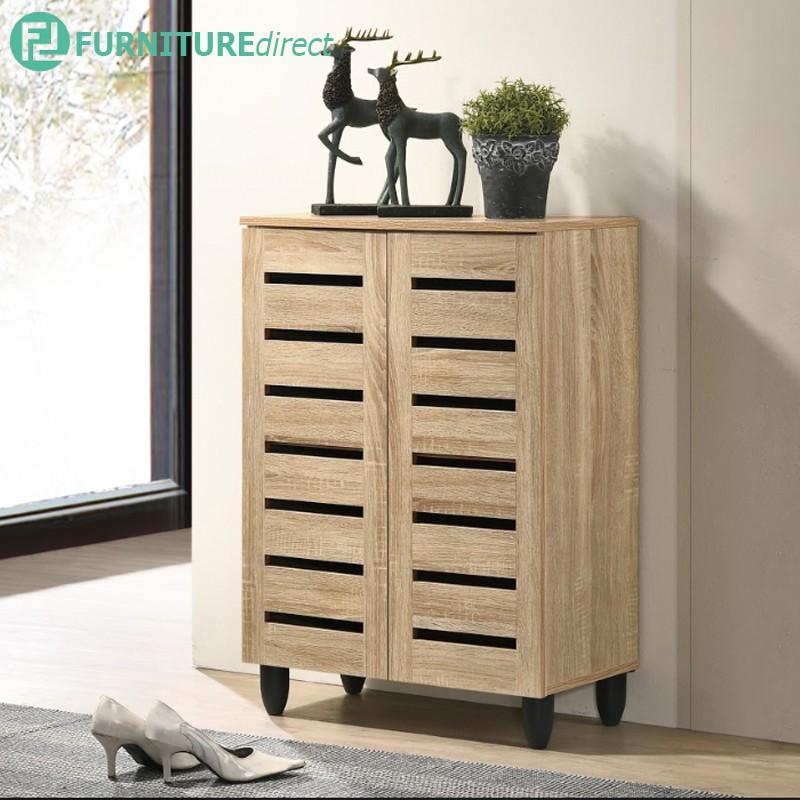 Furniture Direct TORI 2 door shoe cabinet/ kabinet kasut 2 pintu/ rak kasut kayu