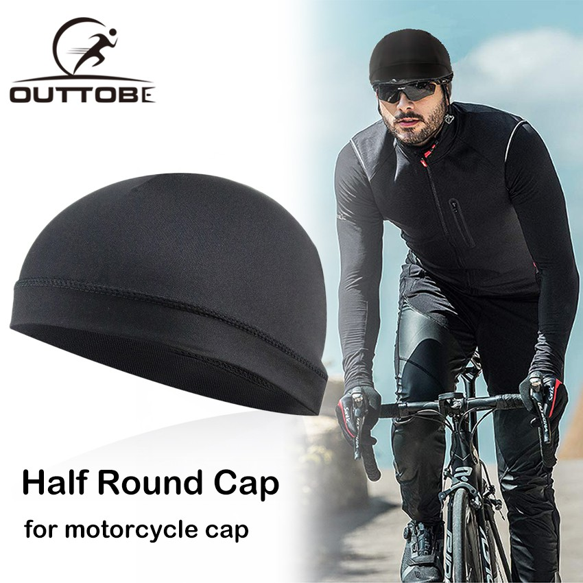 Cycling Cap Hat Motorcycle Helmet Under Cap Bike Head wear Skull Breathable