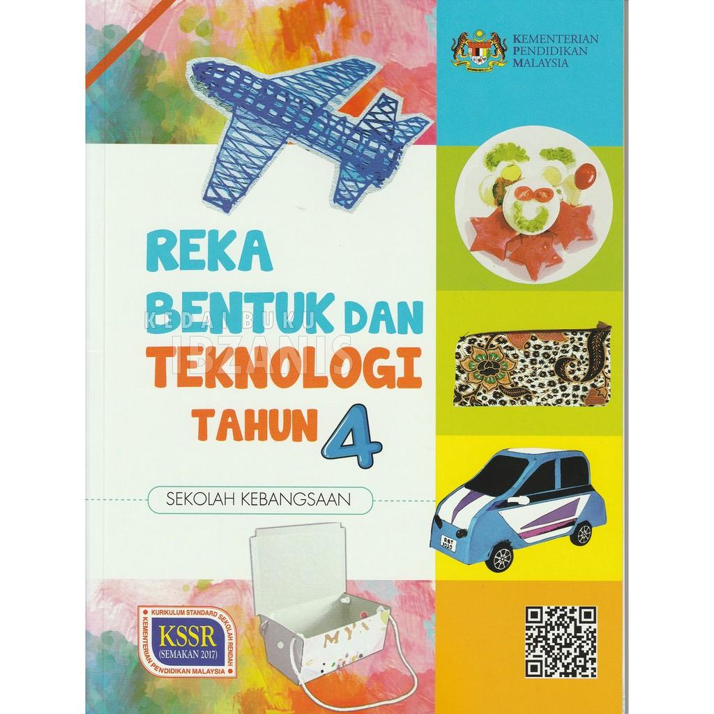 Tahun 4 2020 Buku Teks Rekabentuk Dan Teknologi Shopee Malaysia