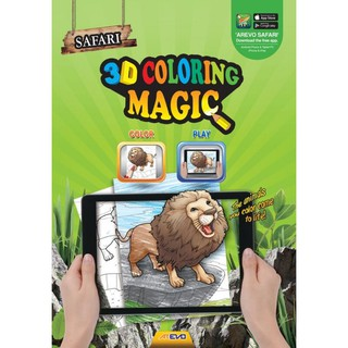 Arevo Augmented Reality 3d Colouring Magic Safari Shopee